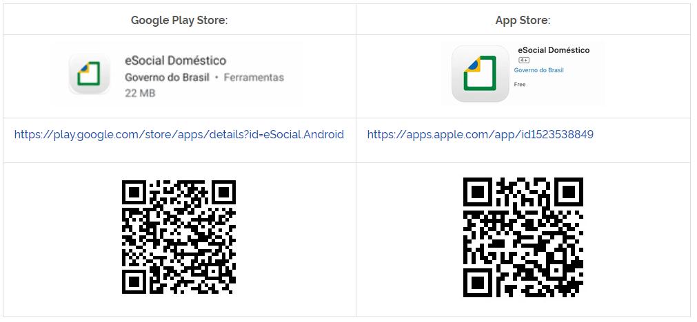 app-esocial-domestico-android-ios